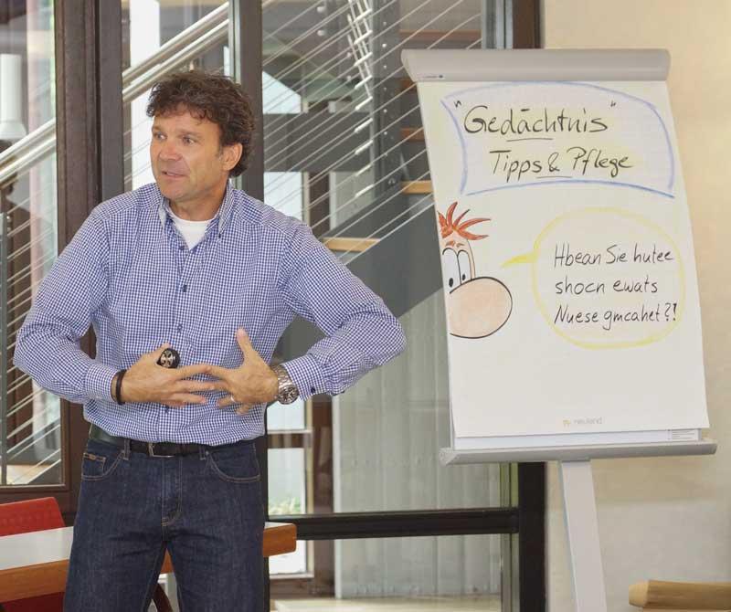 Andreas Pisch - Trainer, Referent, Seminarleiter und Coach für Gedächtnistraining